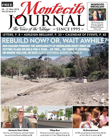 Rebuild Now Or Wait Awhile By Montecito Journal Issuu