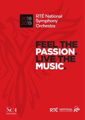 RTE National Symphony Orchestra 2018-2019 Season by RTÉ