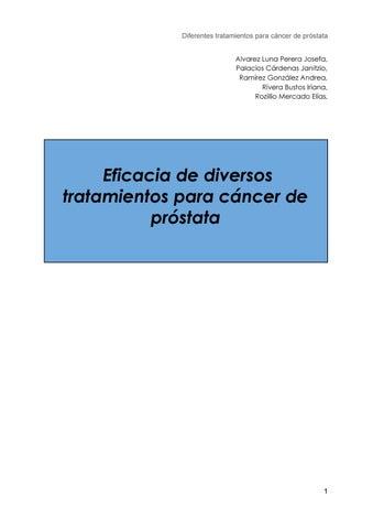 cryablation para el cáncer de próstata recurrente