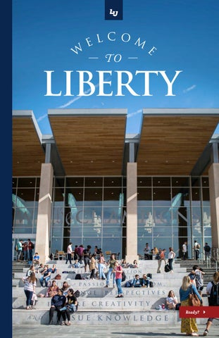 Welcome To Liberty Booklet By Liberty University Issuu