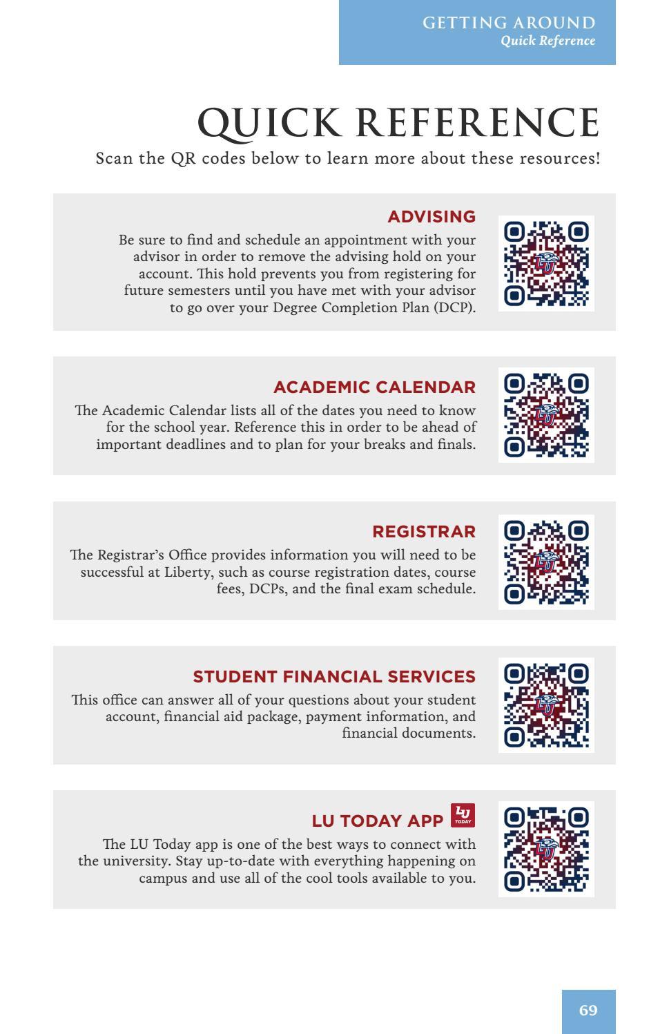 Liberty University Academic Calendar.Welcome To Liberty Booklet By Liberty University Issuu
