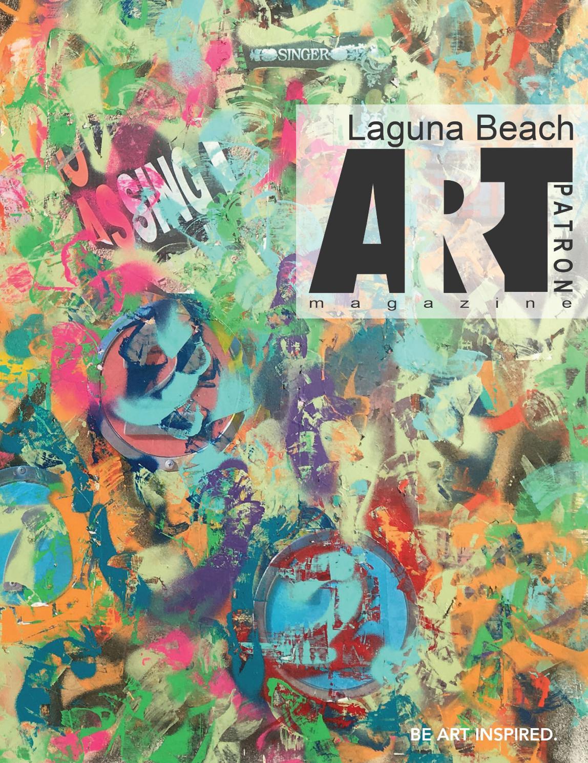 Laguna beach Art Patron May June 2018 by Art Patron Magazine