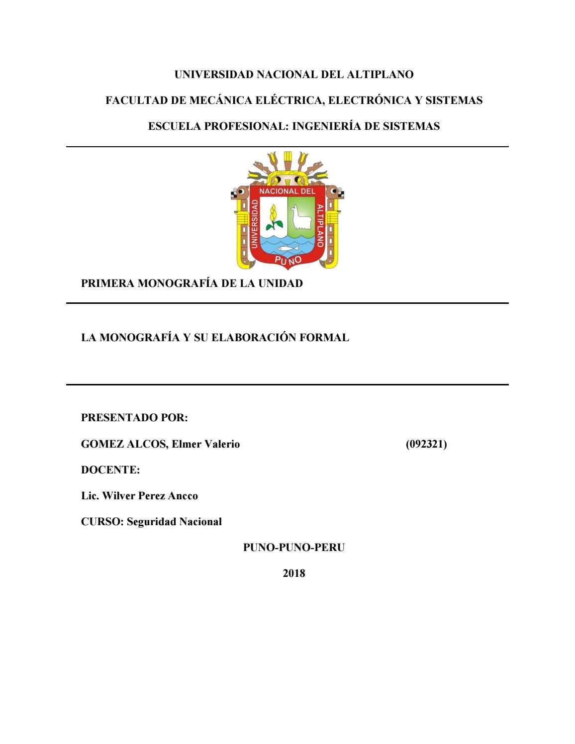 monografia con formato apa by elmer valerio gomez alcos