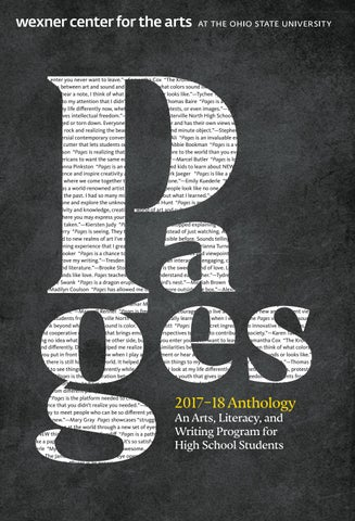 Pages 2017 18 Anthology By Wexner Center For The Arts Issuu