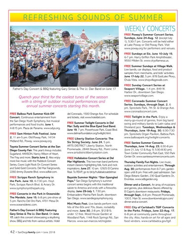 Page 42 of Summer Concerts in San Diego