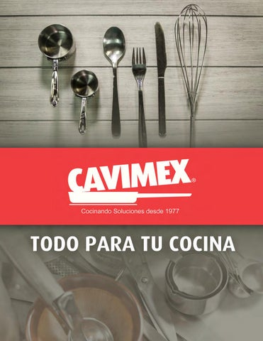 fe3e6b2ba45f CAVIMEX Catálogo 2017 by Máxima Ortiz - issuu