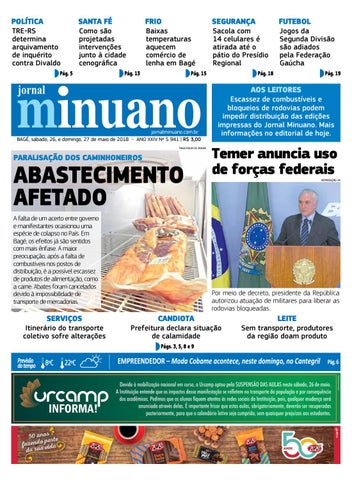 20180526 by Jornal Minuano - issuu 3baaafaa410a3