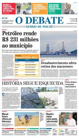 Edição 9563 26 27 28 05 2018 by O DEBATE Diario de Macae - issuu fe6a2ba16db