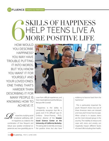 Page 104 of 6 Skills of Happiness Help Teens Live a More Positive Life