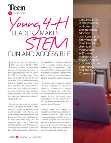 Page 354 of Young 4-H Leader Makes STEM Fun and Accessible