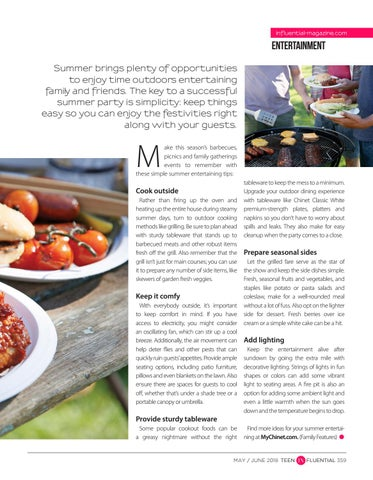 Page 359 of 5 Summer Outdoor Entertaining Tips