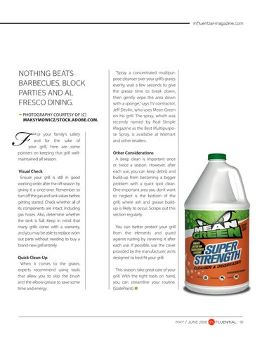 Page 91 of Smart Tips to Keep Your Grill Clean and Safe