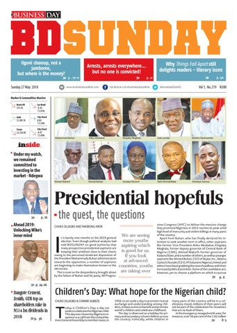 Businessday 27 may 2018 by BusinessDay - issuu