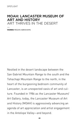 Page 48 of Moah: Lancaster Museum of Art and History