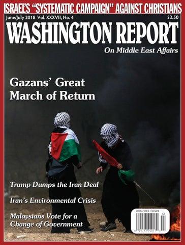 Washington Report - June/July 2018 - Vol  XXXVII, No  4 by