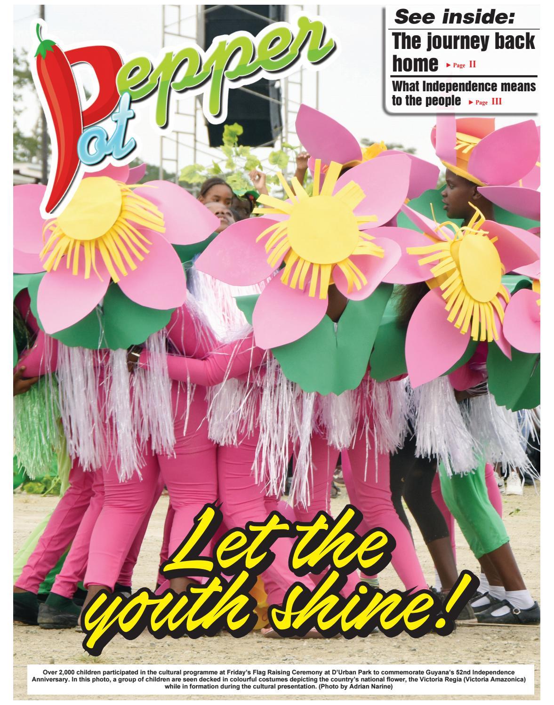 Guyana chronicle pepperpot 05 27 2018