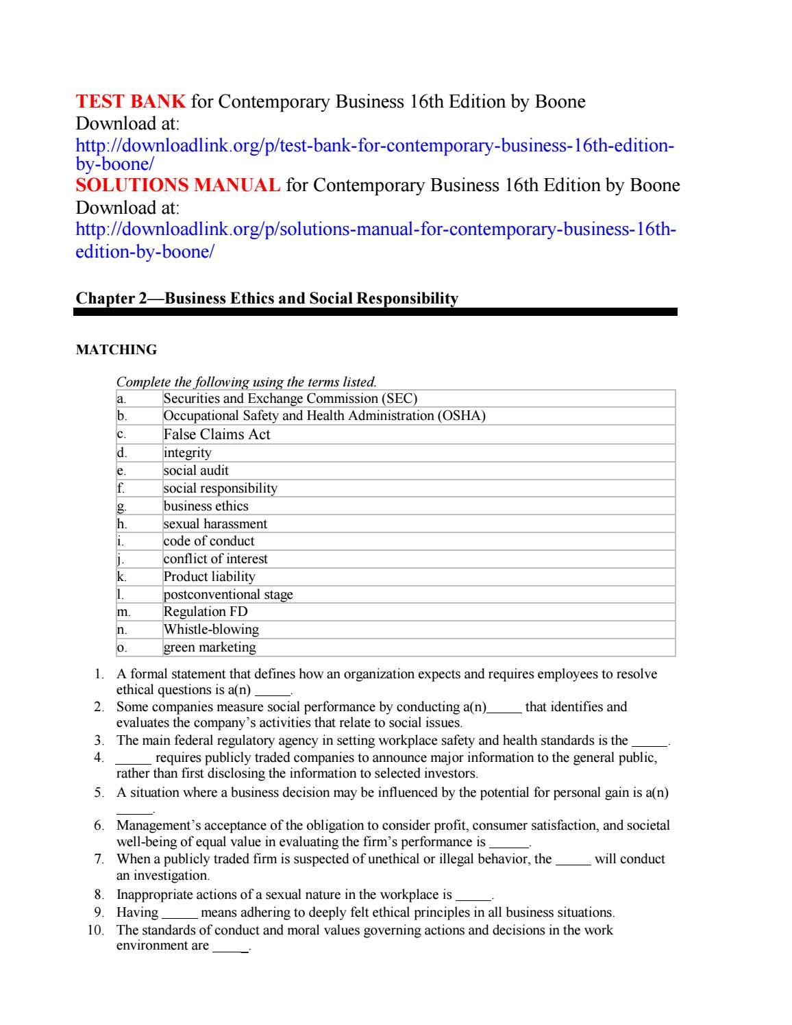 Contemporary Marketing 16th Edition Pdf