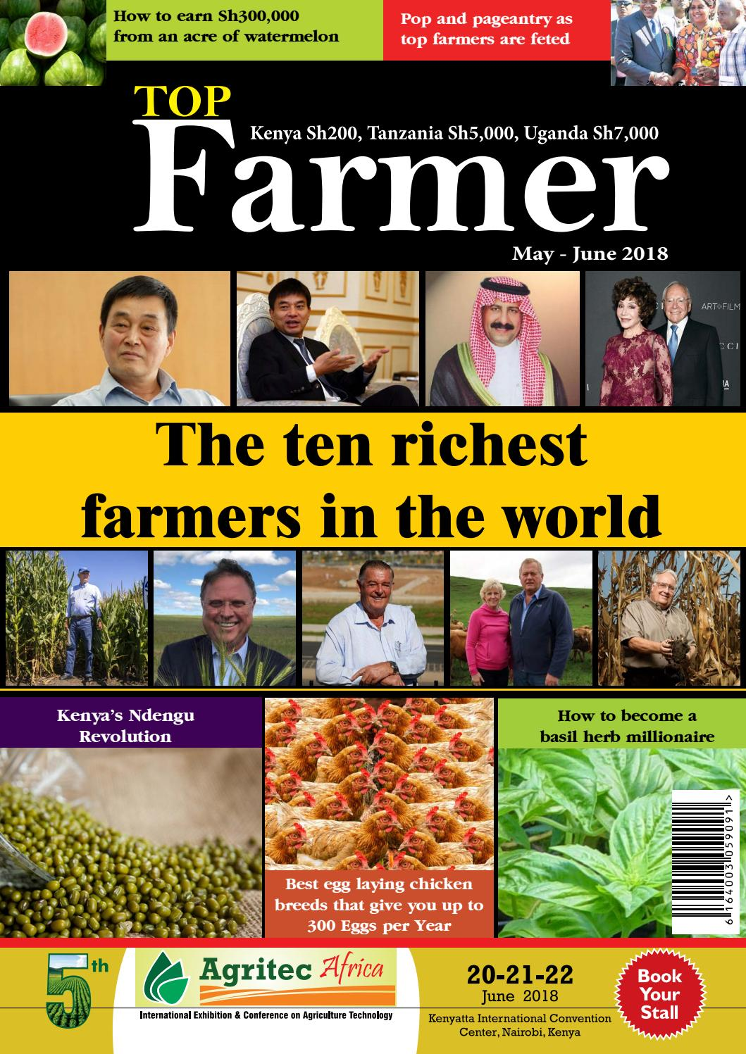 Top Farmer magazine, May-June 2018 by Top Farmer Magazine