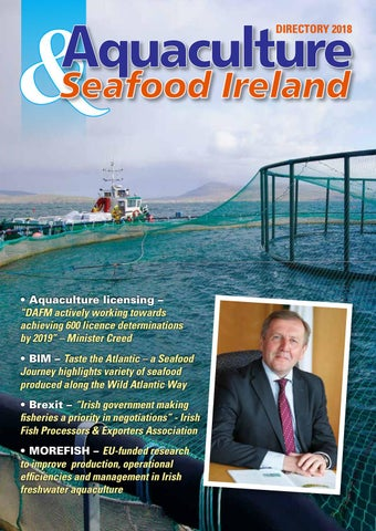 Aquaculture & Seafood Ireland Directory 2018 by Inshore