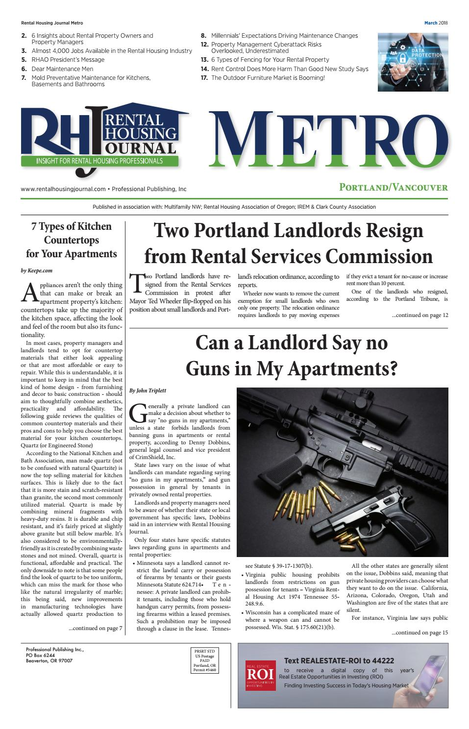 Metro ( Portland ) RHJ March 2018