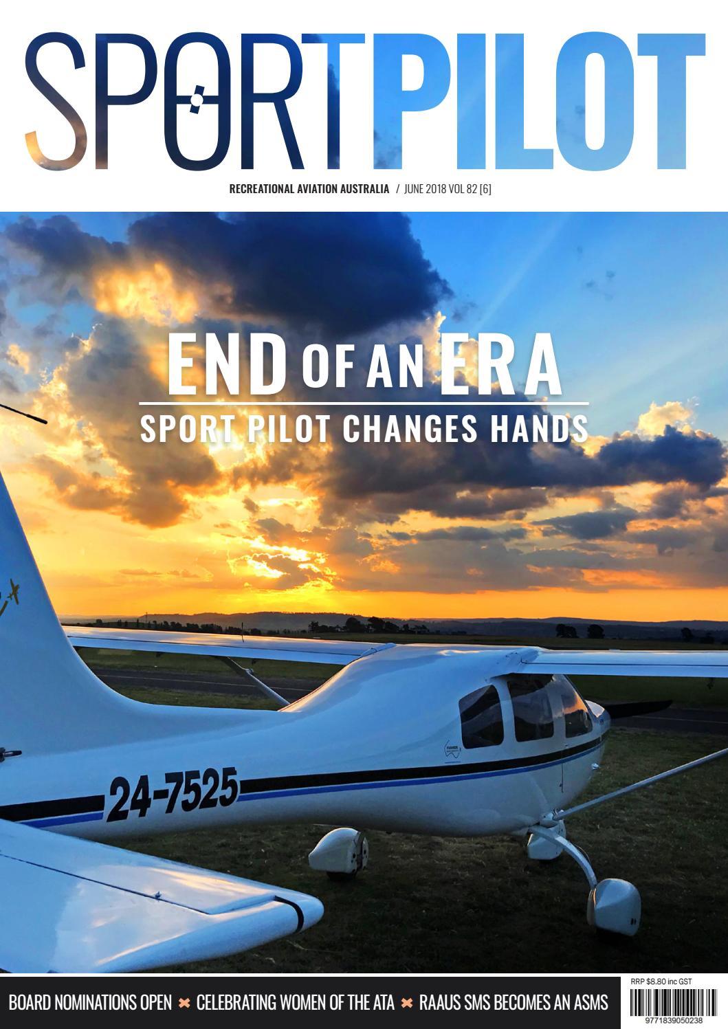 Sport pilot 82 jun 2018 by Recreational Aviation Australia