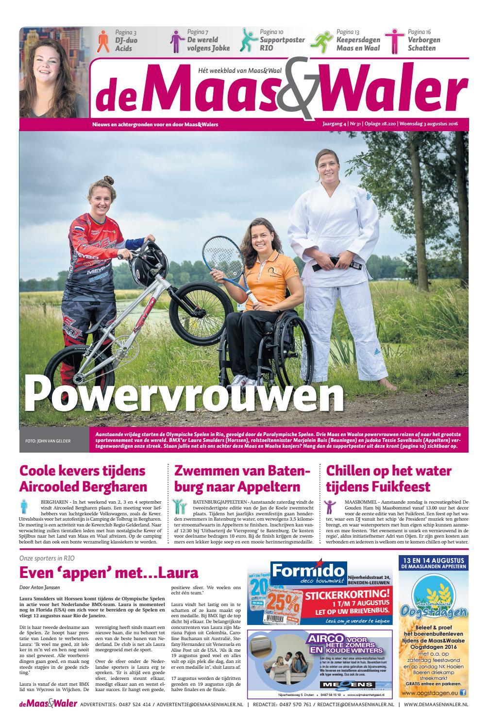 2e0771932103 De Maas Waler week 31 2016 by de Maas Waler - issuu