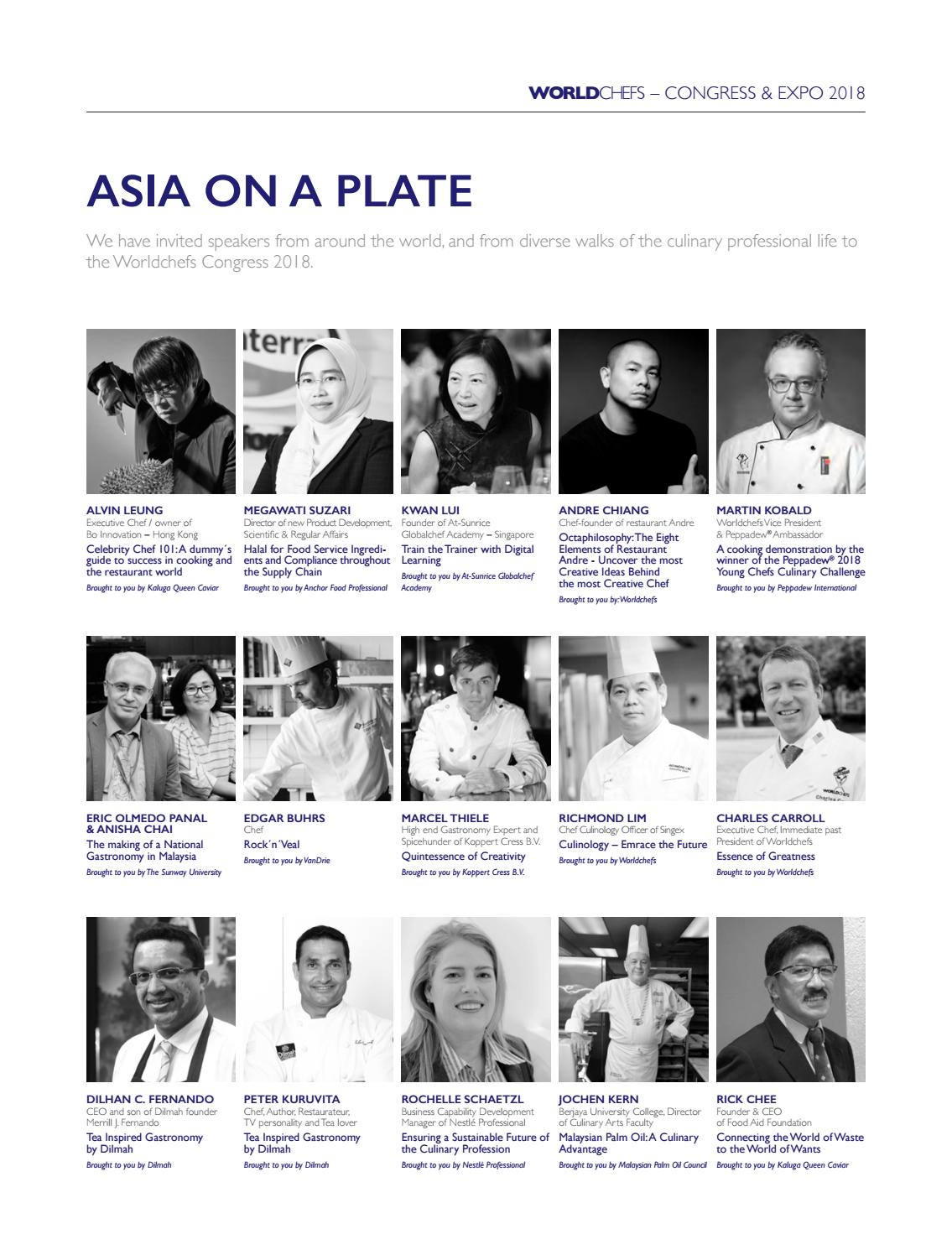 Worldchefs magazine Issue 21 by World Association of Chefs Societies