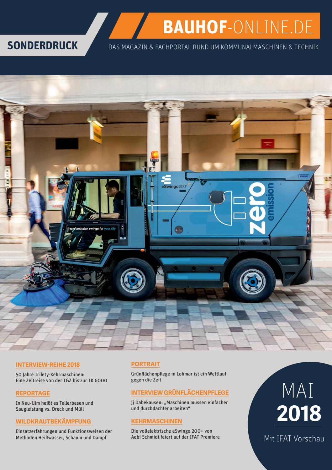 Bauhof-Online Magazin 05/2018 - Mai - SONDERDRUCK by KANAT Media ...