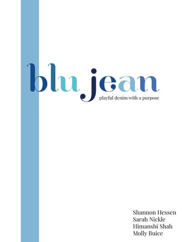 Blu Jean Supply Chain Strategy by student578 - issuu