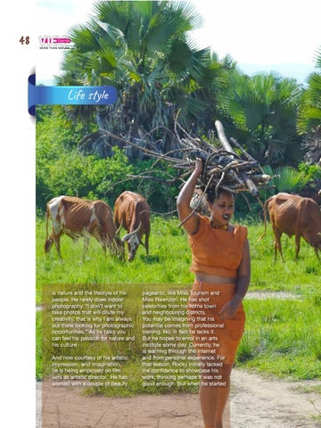 Page 50 of Explore the contemporary African village lifestyle.