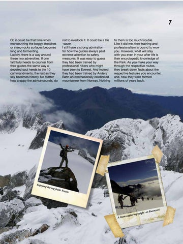 Page 9 of Rwenzori, a scenic encounter to rejuvenate our mind