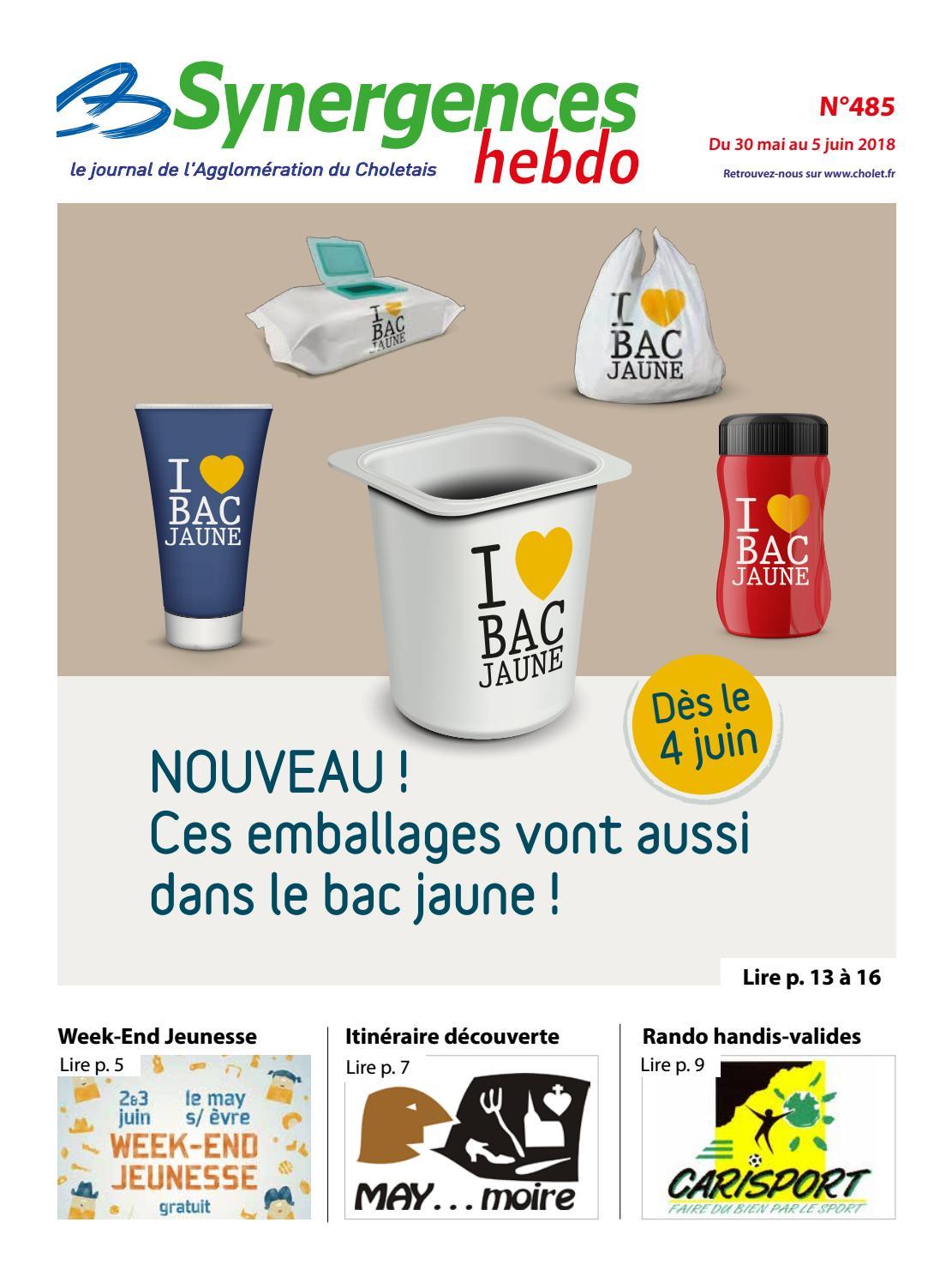 Synergences hebdo n°485 by Agglomération du Choletais - issuu 5743b832d28