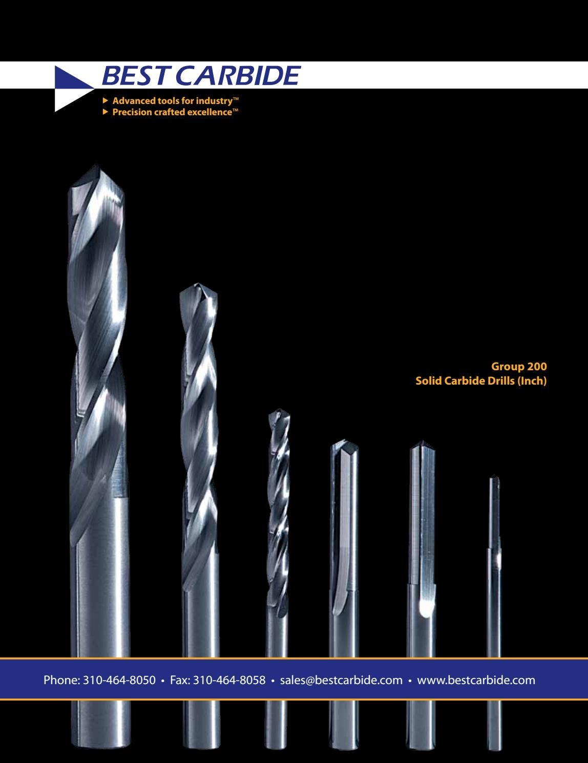 """BEST CARBIDE 4 FLUTE UNIVERSAL APPLICATION 9//64/"""" DOUBLE END STUB END MILL/""""NEW/"""""""