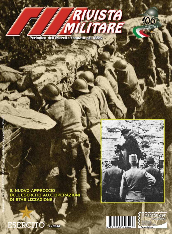 RIVISTA MILITARE 2016 N.4 by Biblioteca Militare - issuu e9a1700bc9b1
