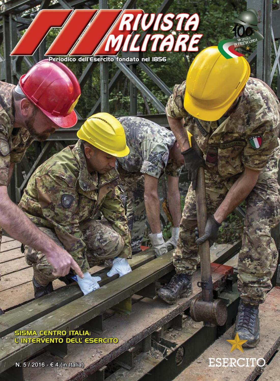 RIVISTA MILITARE 2016 N.5 by Biblioteca Militare - issuu fe444c3aa801