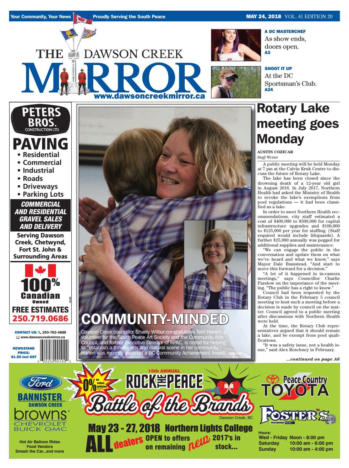 c8dfe68fc6a Dawson Creek Mirror 2018-0524 by The Mirror - issuu