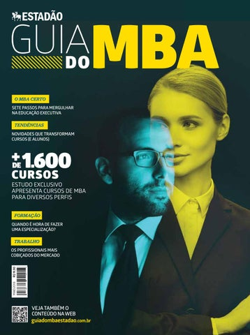 9d8a941d5d475 Estadão Guia do MBA 2018 by João Guitton - issuu
