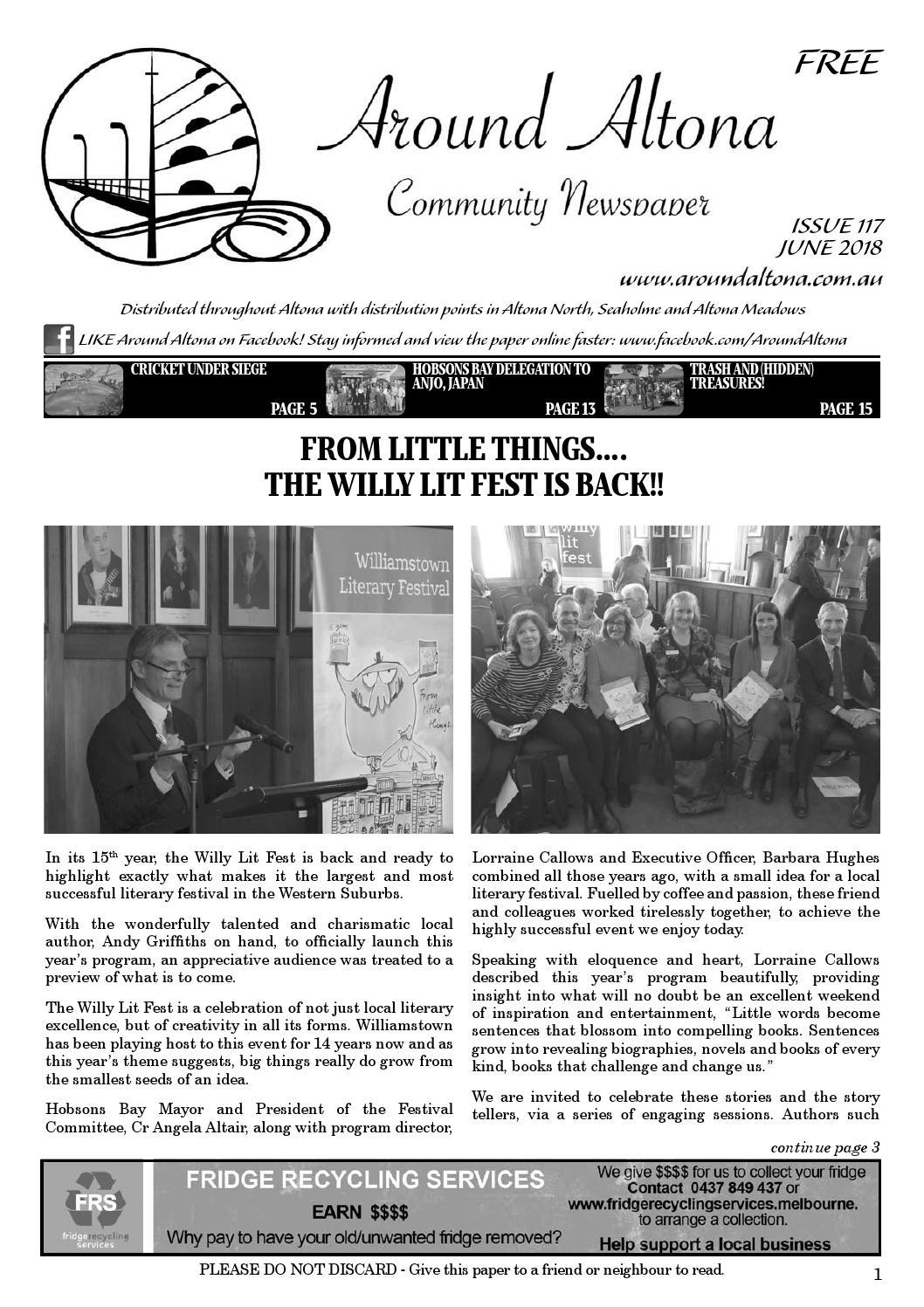 Around Altona 117 by Around Altona Community Newspaper - issuu