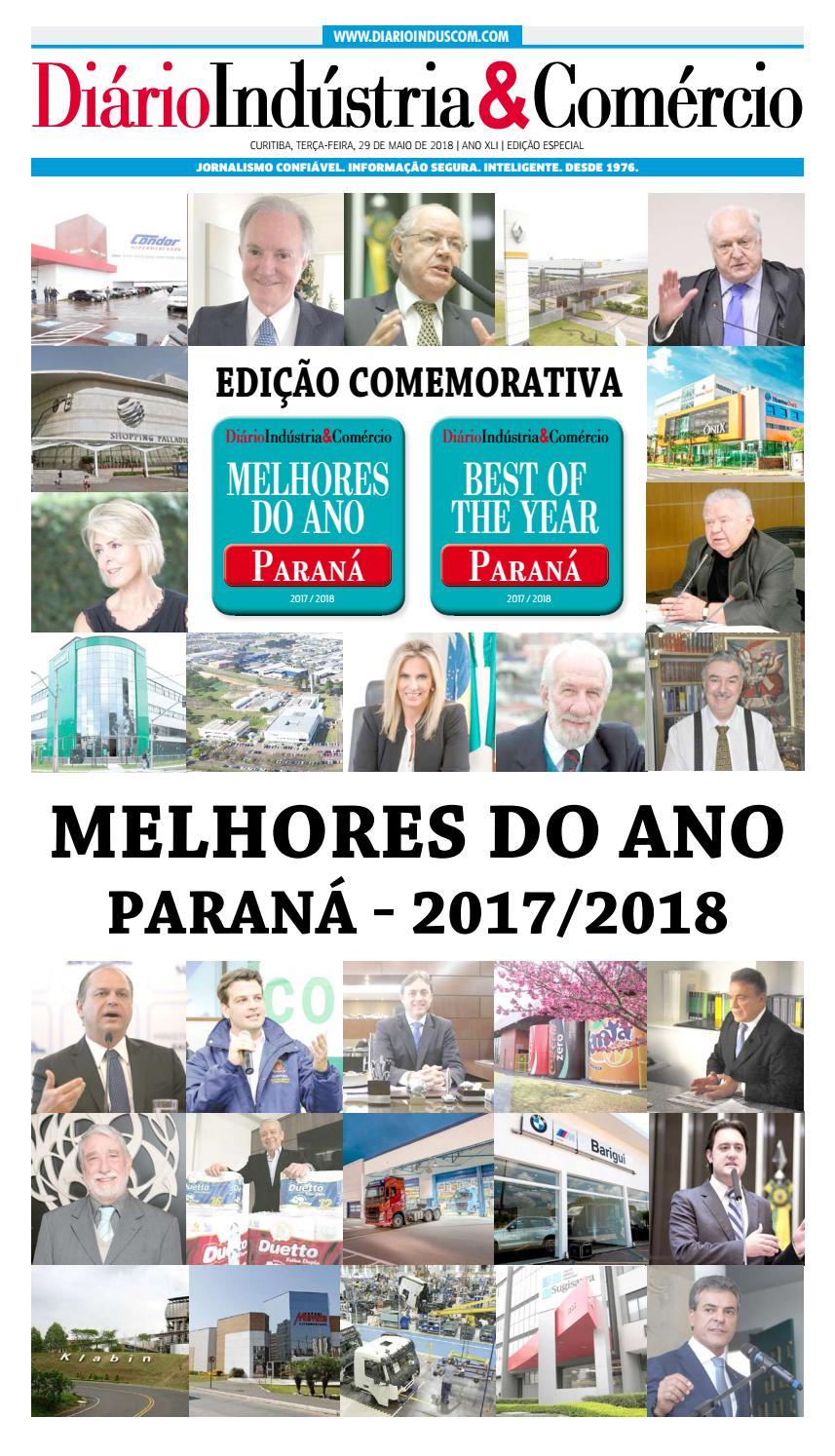 5c3e5338e7e0d Diário Indústria Comércio - Melhores do Ano - Paraná - 2017 2018 by Diário  Indústria   Comércio - issuu