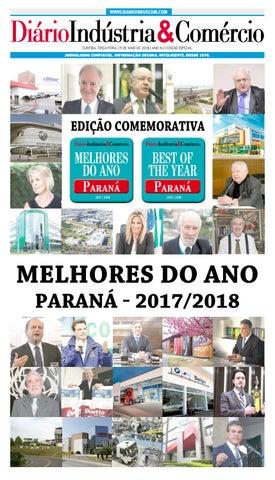 Diário Indústria Comércio - Melhores do Ano - Paraná - 2017 2018 by Diário  Indústria   Comércio - issuu 2ff356bdb4a68