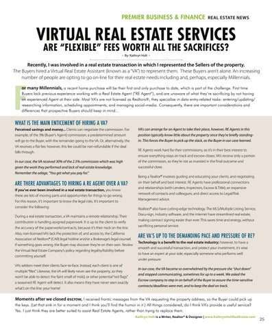 Page 25 of VIRTUAL REAL ESTATE SERVICES
