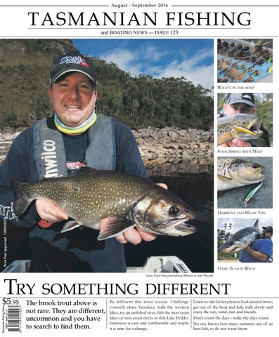 6e07040a65f Tasmanian Fishing and Boating News Issue 122 2016 June