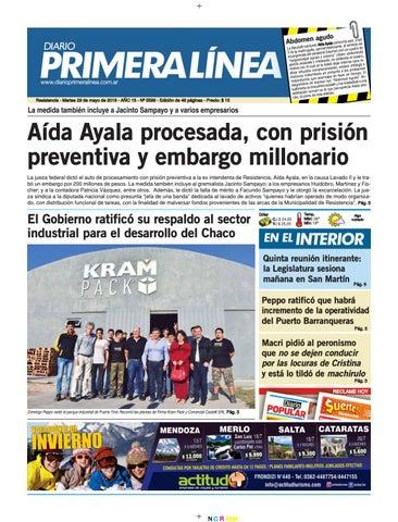 fa73f070 Primera Línea 5599 29 05 18 by Diario Primera Linea - issuu