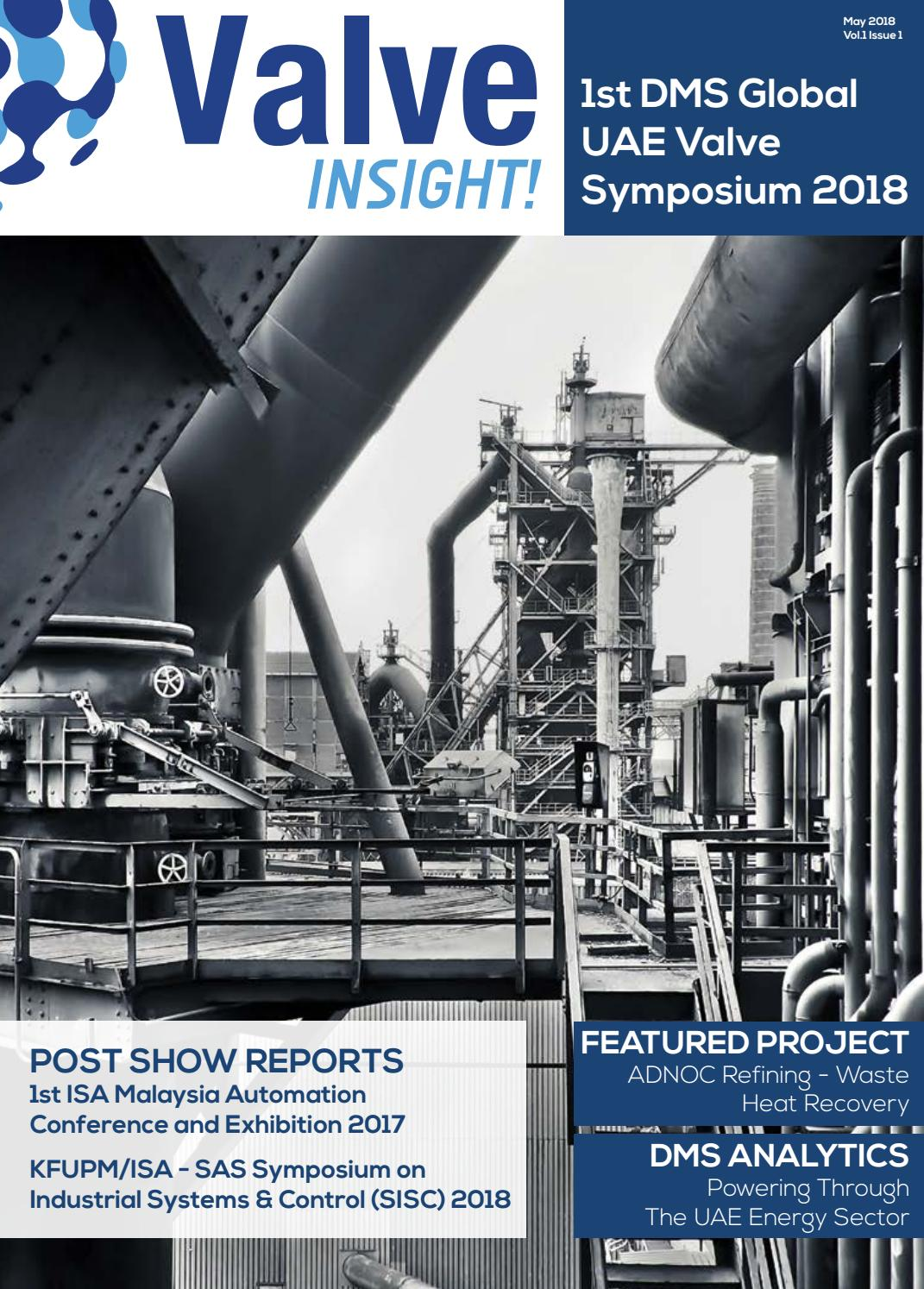 Valve INSIGHT! May 2018 by DMS Global - issuu