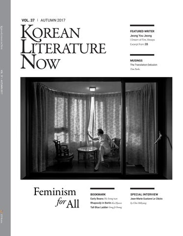 131013664a04 Korean Literature Now  Vol.37 Autumn 2017 by LTI Korea Library - issuu