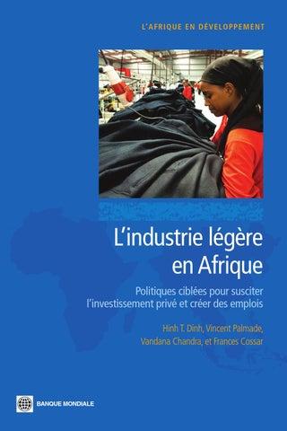 L industrie légère en Afrique by Agence Française de Développement ... 971a77d28e3