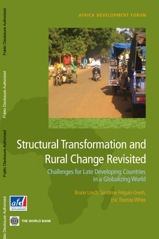 495437c7ae3bd Structural Transformation and Rural Change Revisited by Agence ...