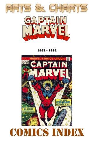 Captain Marvel index (1967 - 1982)
