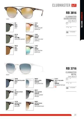 RB 3816 CLUBMASTER DOUBLEBRIDGE. 1238I3. Lens Base 6 901 black SOLID green 68bf86b08a