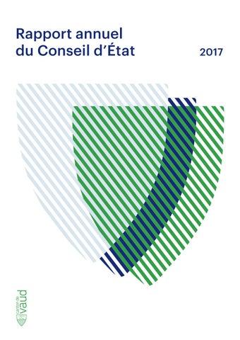 23e2a7f5b51fa3 Rapport annuel 2017 du Conseil d Etat du canton de Vaud by Etat de ...